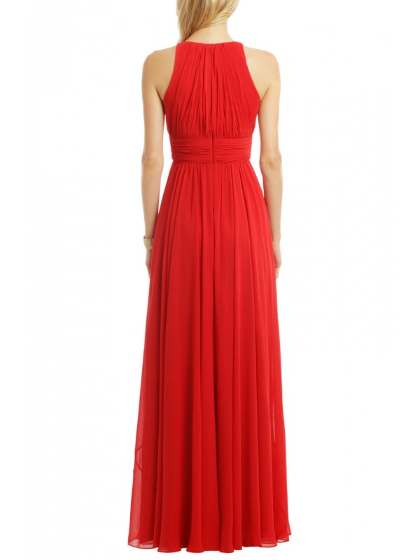 Ruby Red Gala Gown