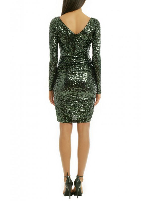 Sequin Shamrock Dress