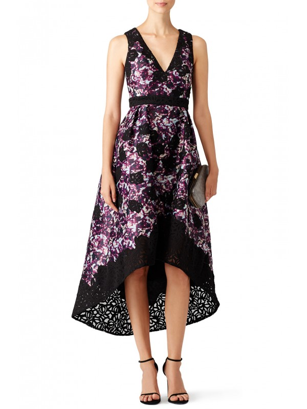 Dark Floral Alex Dress