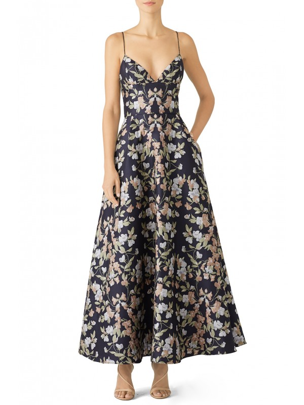 Garden Jacquard Gown