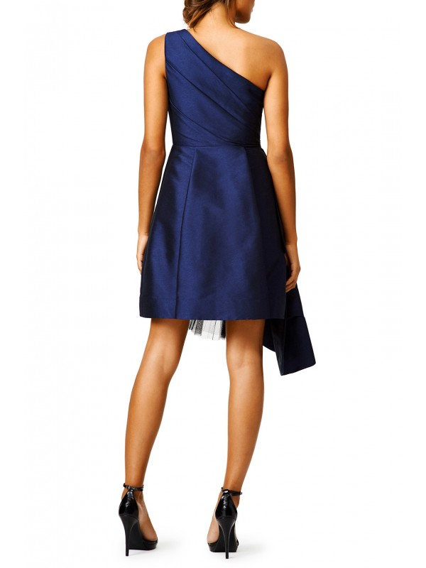 Navy Stream Dress