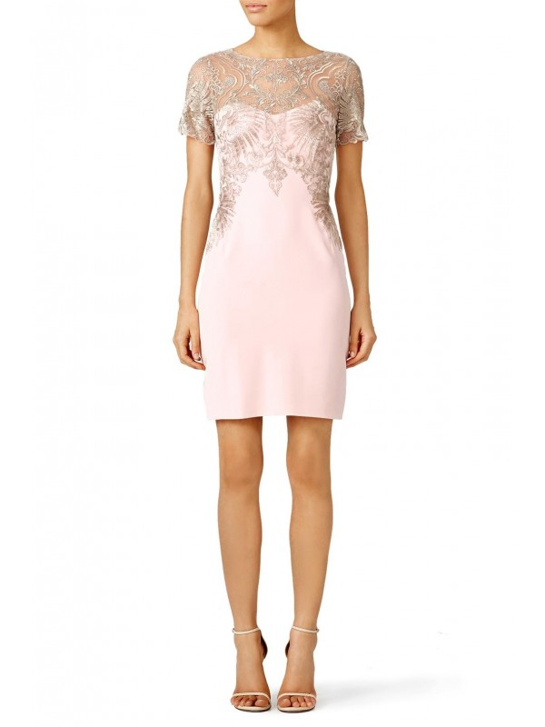 Blush Buckingham Sheath