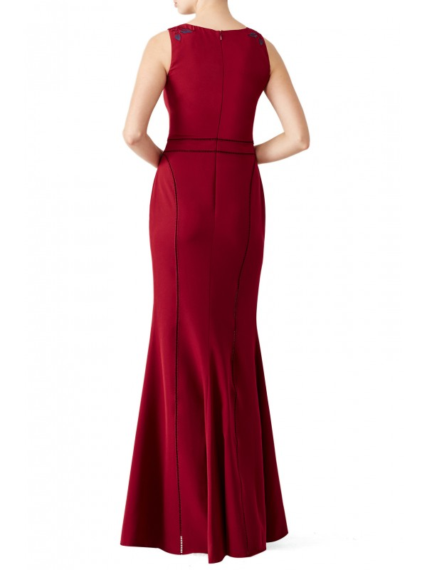 Burgundy Vine Gown