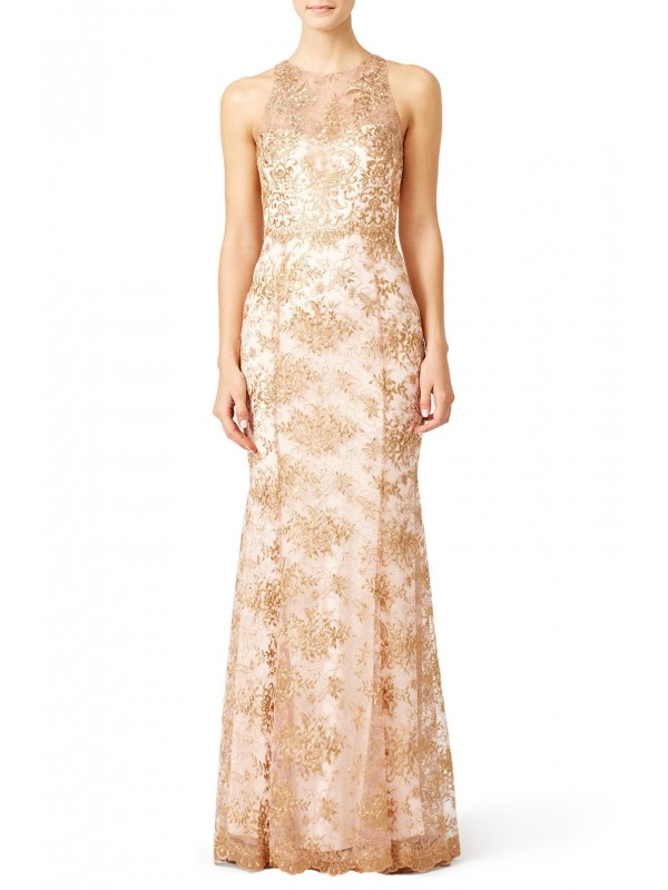 Gilded Blush Gown