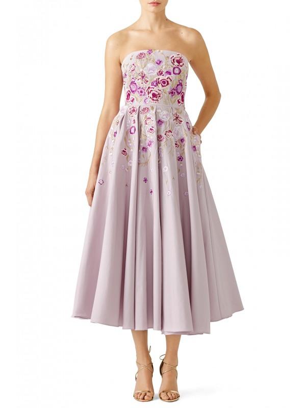 Lilac Midi Dress