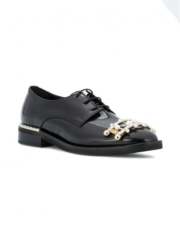 COLIAC EMBELLISHED LACE-UP SHOES