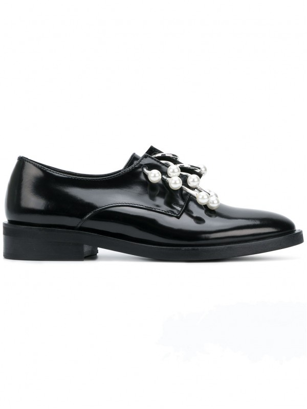 COLIAC PEARL RING FRONT BROGUES