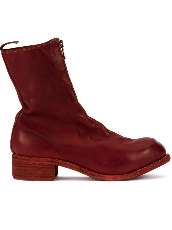 Guidi zip-up fitted boots PL2
