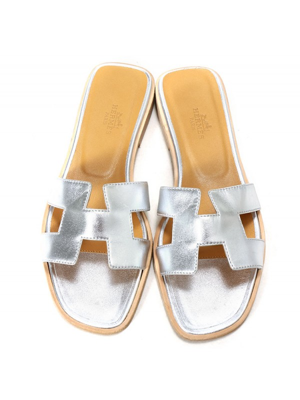Thierry Hermes H SLIPPERS 2CM