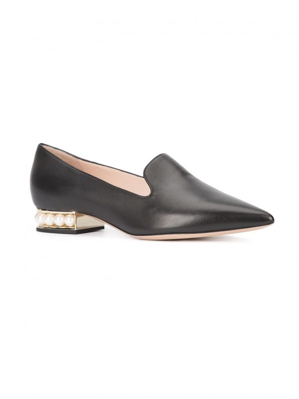 Gianvito Kirkwood 18mm Casati Pearl loafers