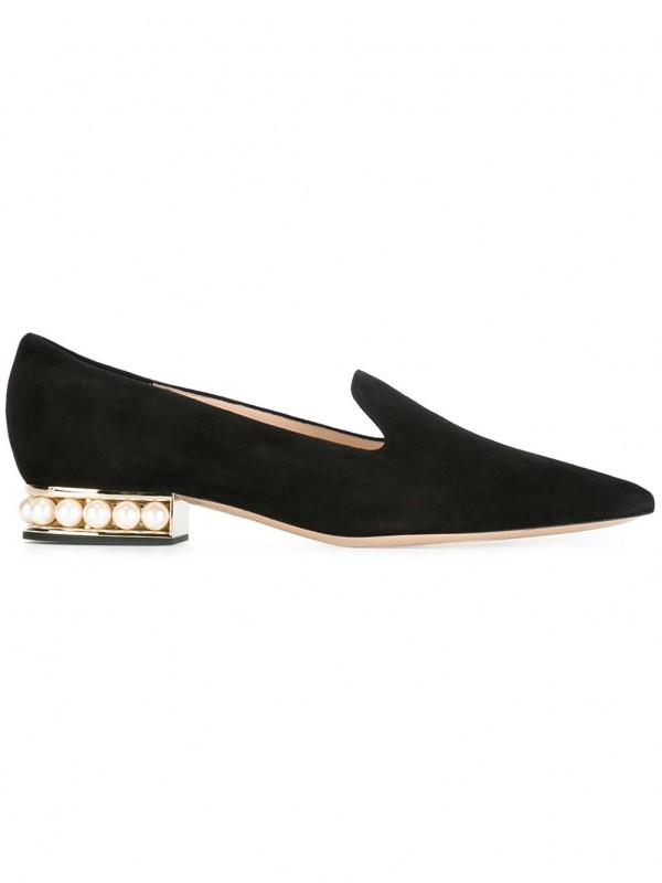 Gianvito Kirkwood 18mm Casati Pearl loafers