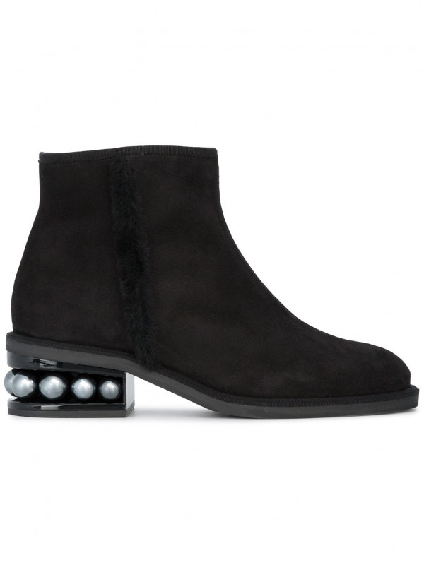 Gianvito Kirkwood Casati Pearl ankle boots suede