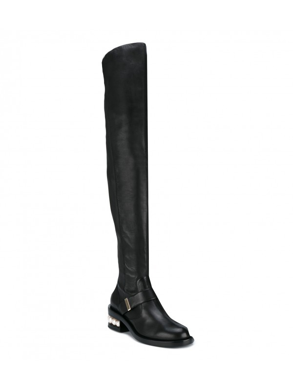 Z Gianvito Kirkwood Casati Pearl over the knee boots