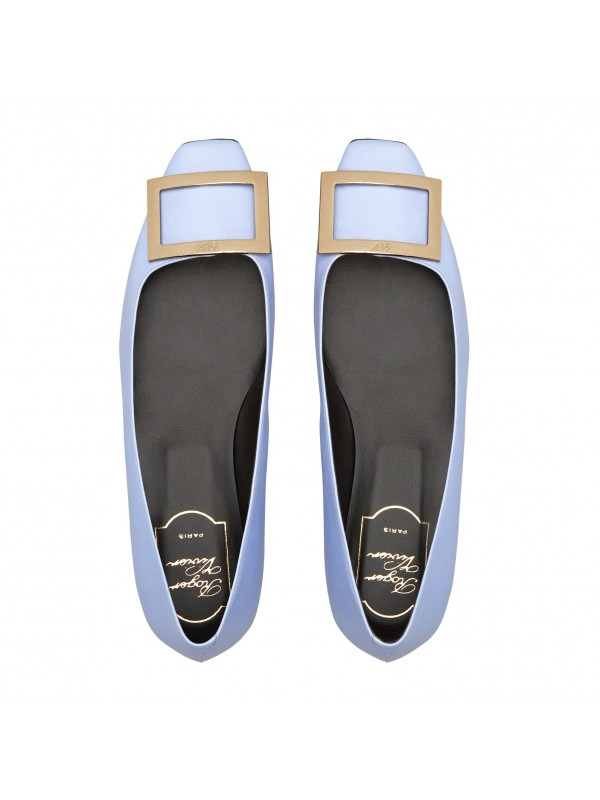 VIVIER Trompette Ballerinas in Patent Leather