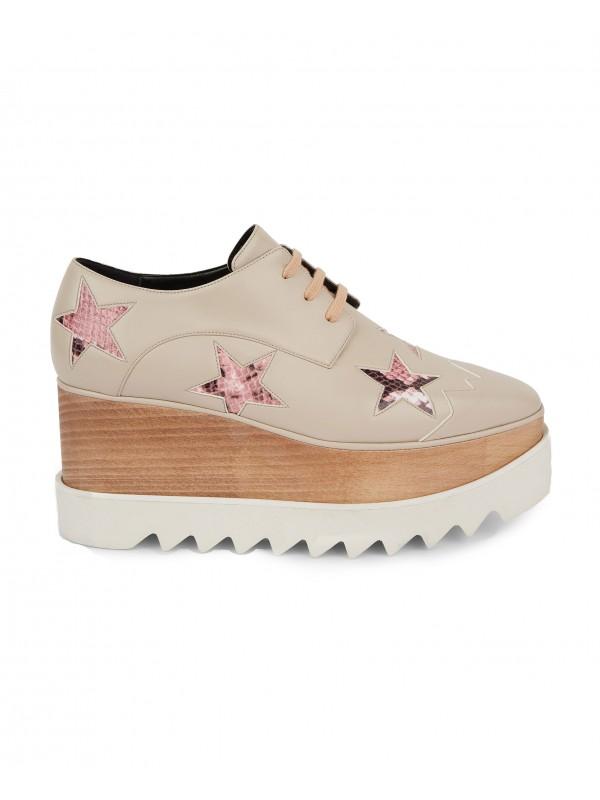 STELLA ELYSE Beige Elyse Star Shoes