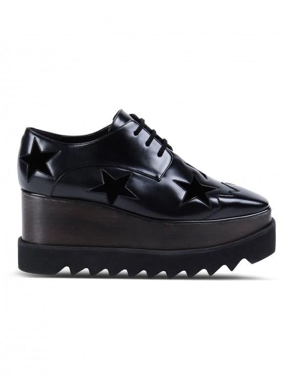 STELLA ELYSE Black Elyse Star Shoes